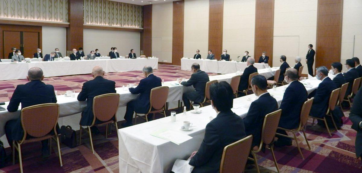 第15回佐竹知事との朝食懇談会