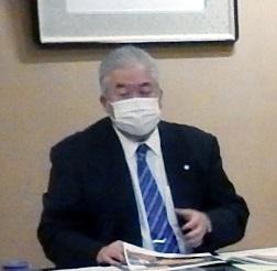 講演する九嶋敏明由利本荘市副市長