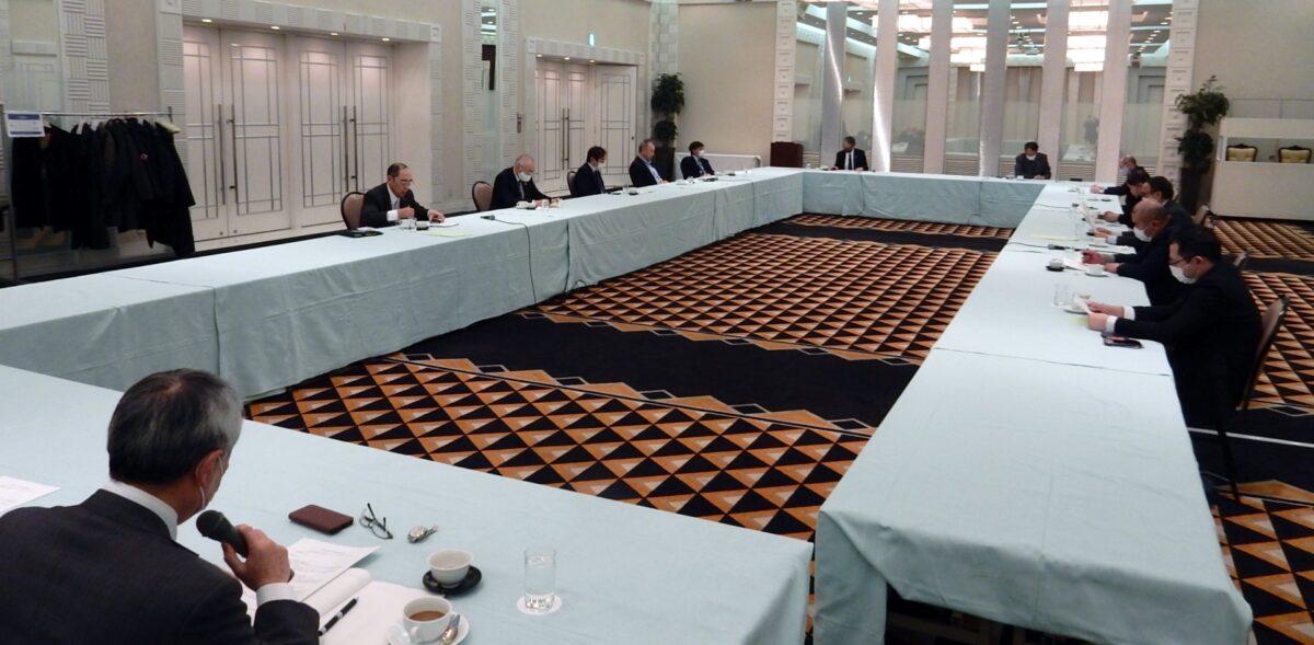 令和3年度活動方針案などを協議した第1回地域開発委員会