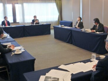 新年度活動方針案などを協議した第2回国際活動委員会