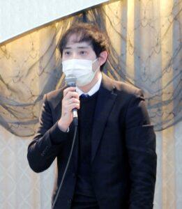 講演する櫻井氏