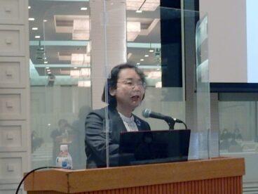 講演する谷口典子講師