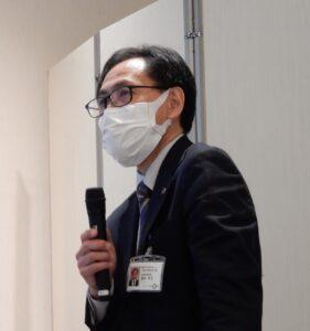 講演する県産業技術センターの遠田幸生氏